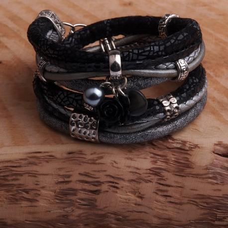HippS D255 - Vrouwen armband dubbel